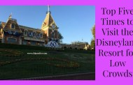 Top Five Times to Visit the Disneyland Resort for Low Crowds