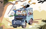 Sneak Peek at the first image from the new DuckTales series