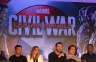 Captain America: Civil War Press Conference- Team Captain America