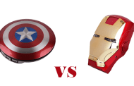Show Which Side You Are On, Team Captain America or Team Iron Man with these Marvel Power Banks