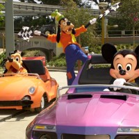 Autopia when it re-opened after refurbishment in 2000