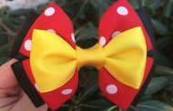 Accessorize in Style with a Fun Minnie Mouse Inspired Hair Bow