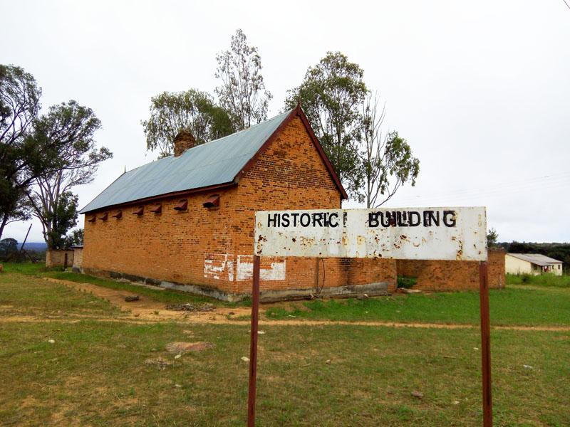 Mbala Old Prison - Sign