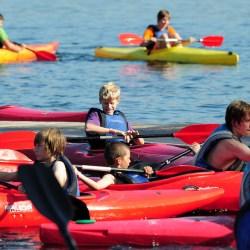Hofstade. Jeugdsportival Bloso Hofstade. Jongeren kunnen allerlei sporten en attracties uitproberen.