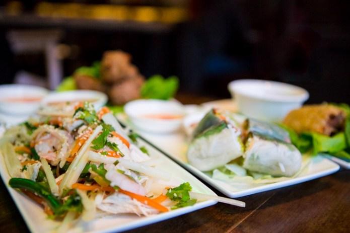 lotus-stem-chicken-prawn-bean-sesame-salad