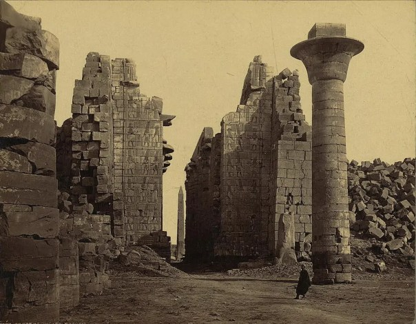 Photos of Ancient Egyptian Monuments More Than 100 Years Ago (13)