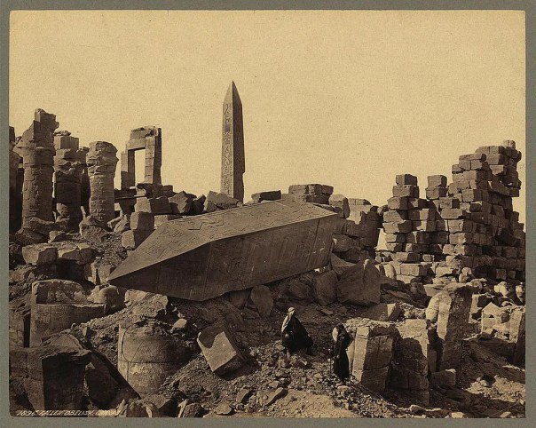 Photos of Ancient Egyptian Monuments More Than 100 Years Ago (17)