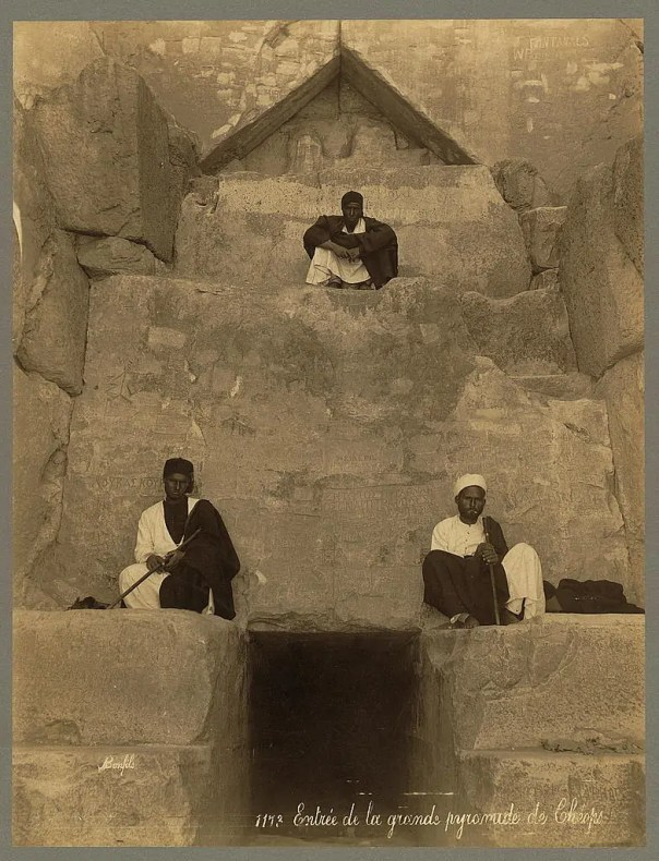 Photos of Ancient Egyptian Monuments More Than 100 Years Ago (3)