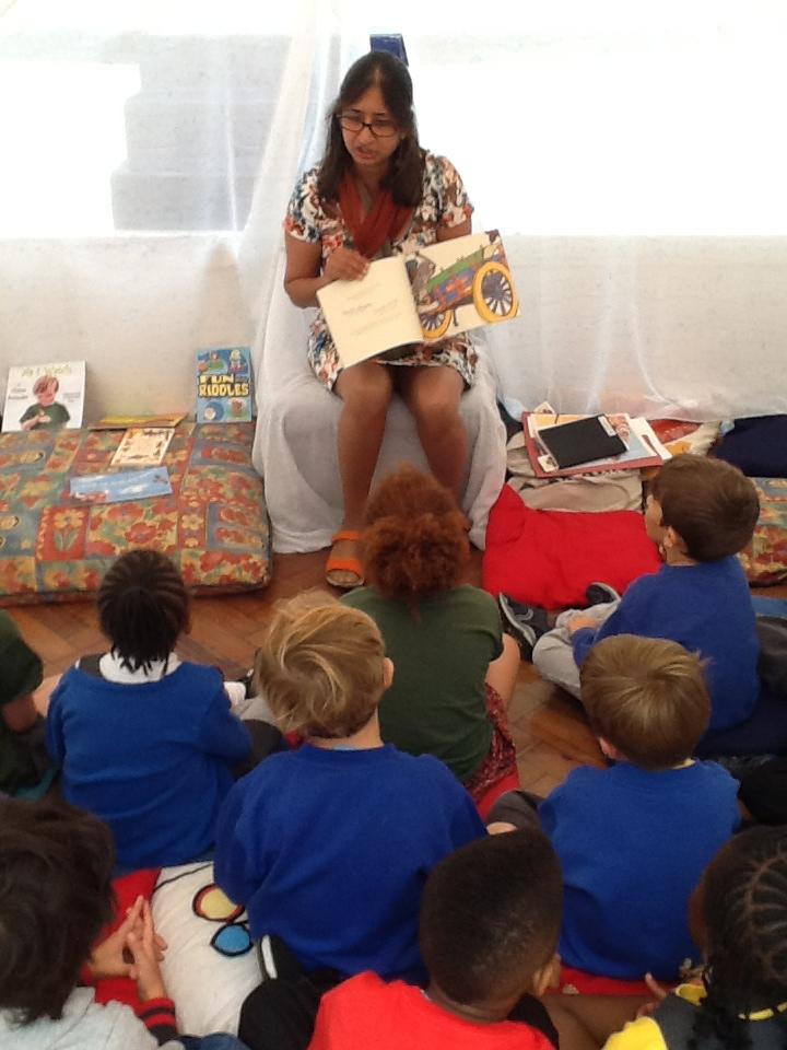 Storytelling at Rosendale Primary