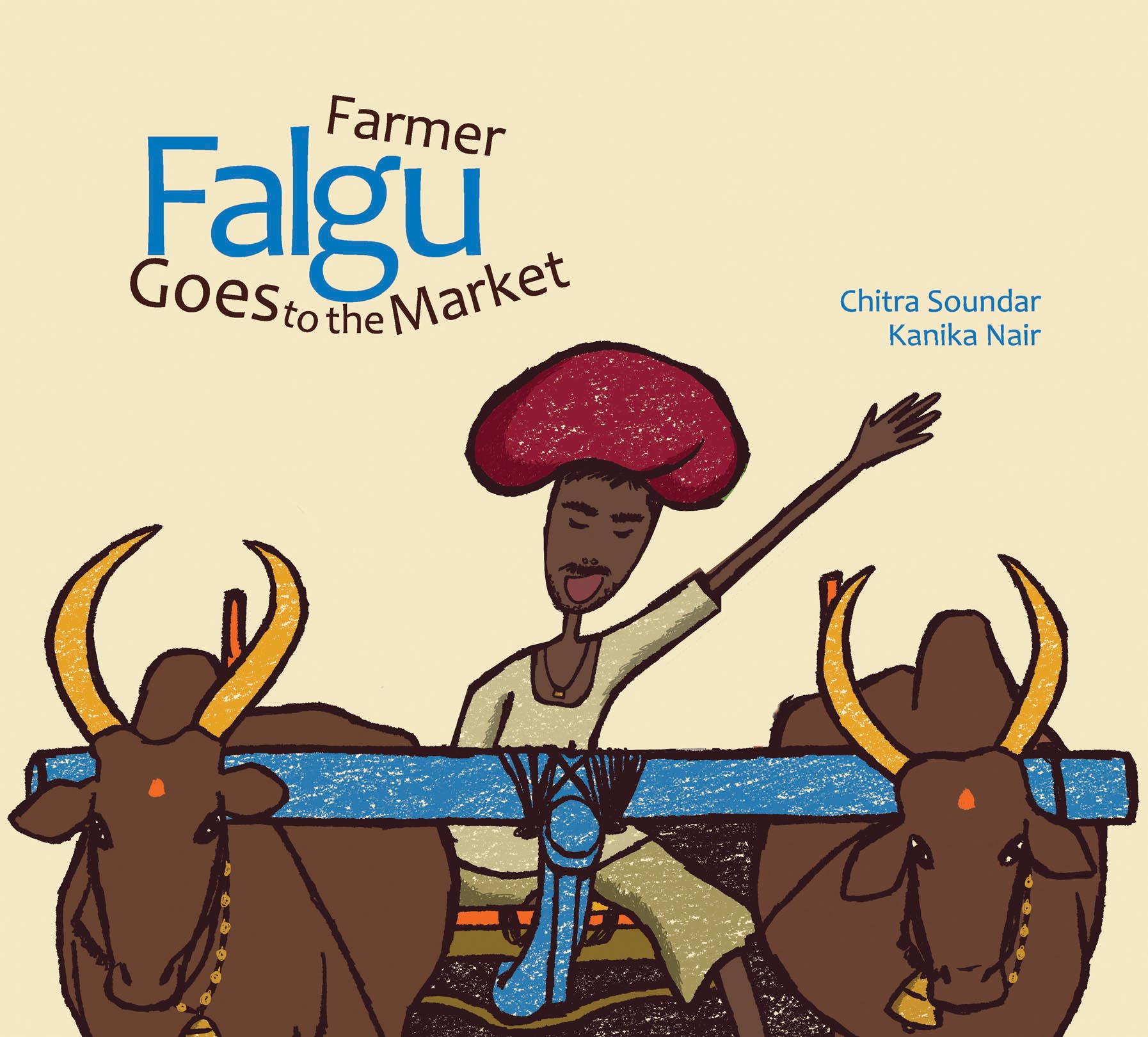 Farmer Falgu Goes to the Market - Karadi Tales - a rollicking tale about eggs