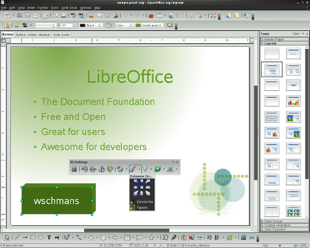 LibreOffice projesini destekleyenler arasında ise Red Hat ve Google gibi şirketler de bulunuyor.