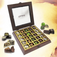 25 Pc. Divine Chocolate Box