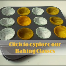 Join our Baking Classes