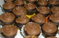 Chocolate walnut Cupcakes with Choco mint icing