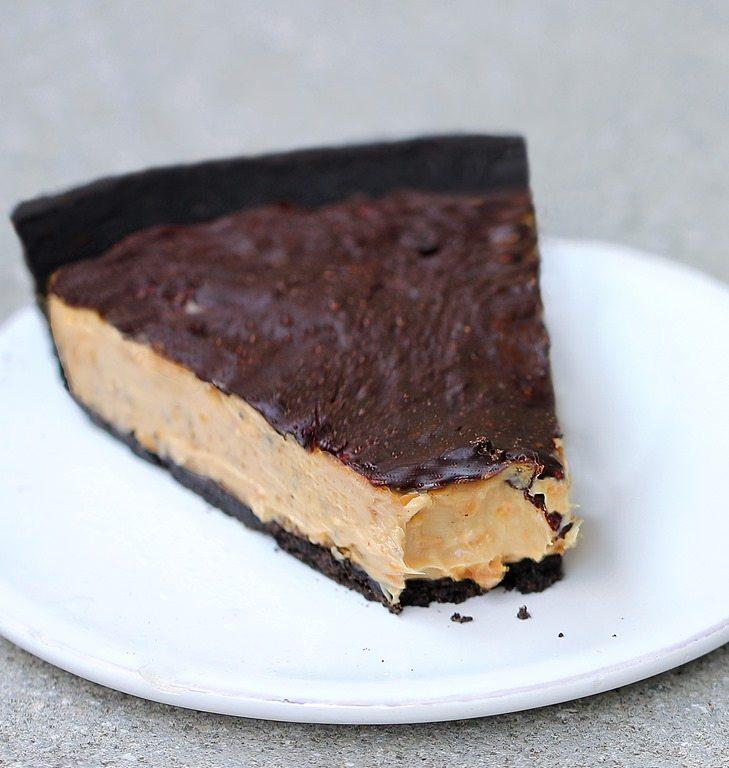 Easy Chocolate Tofu Pie Recipe — Dishmaps
