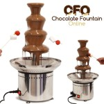 4 tiers Chocolate Fountains