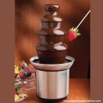 4 tiers Chocolate Fountain CF18A