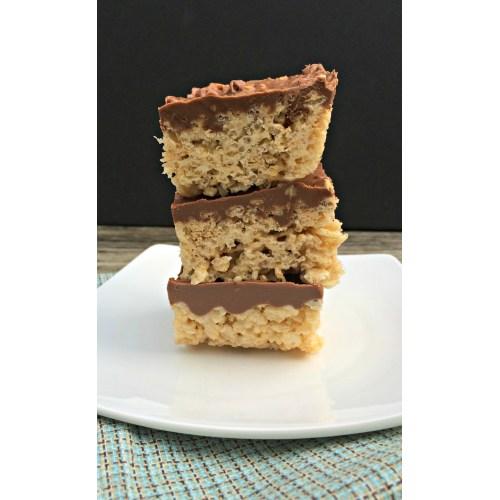 Medium Crop Of Peanut Butter Rice Krispie Bars