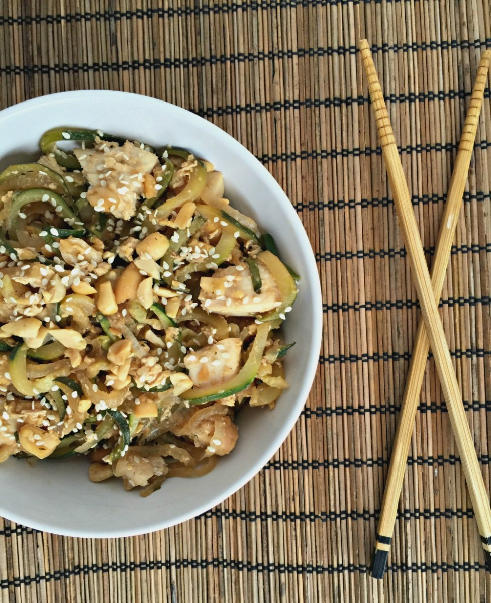 Chicken Pad Thai Zoodles