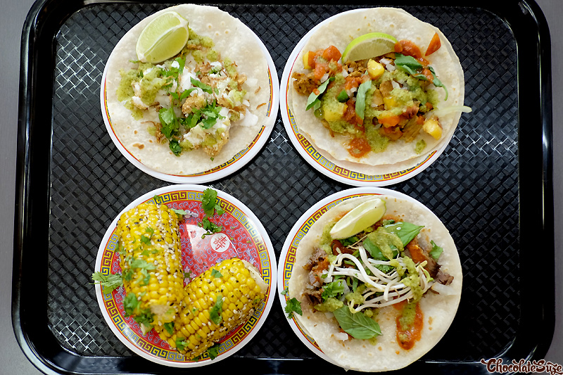 Tacos at Ghostboy Cantina, Chinatown Sydney