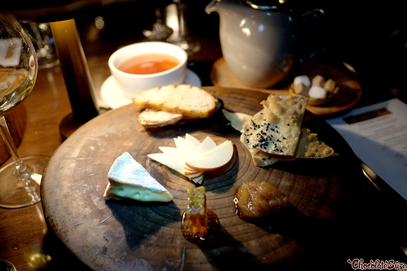Le Conquérant Grand Camembert cheese at Muse Dining, Pokolbin