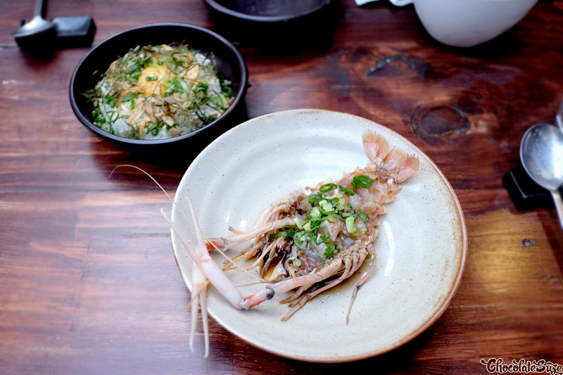 Scampi Jang at Kim Restaurant, Potts Point