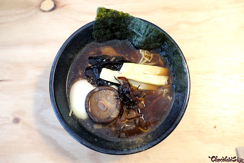 The Dark ramen at Rising Sun Workshop, Newtown