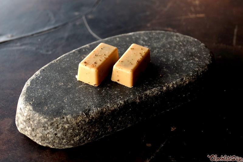 Wattleseed caramel at Vue de monde, Melbournemels