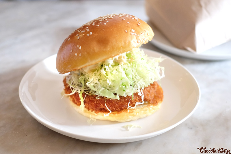 Ebi Prawn Burger at Bar Ume, Surry Hills
