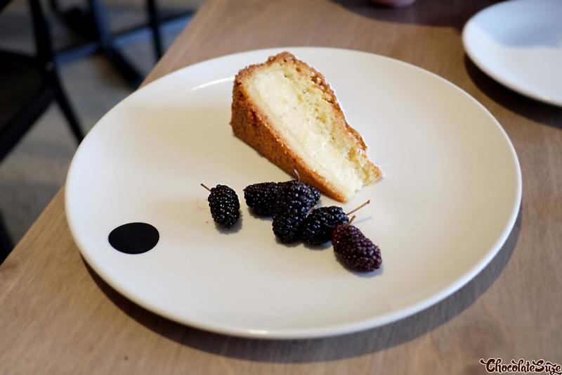 Custard cake at Saint Peter, Paddington