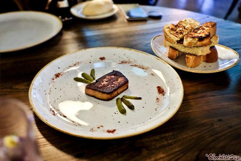 Foie Gras at Bar Machiavelli, Rushcutters Bay
