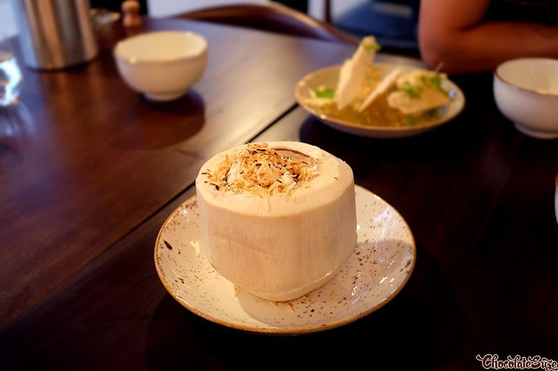 Coconut at Yan Restaurant, Wolli Creek