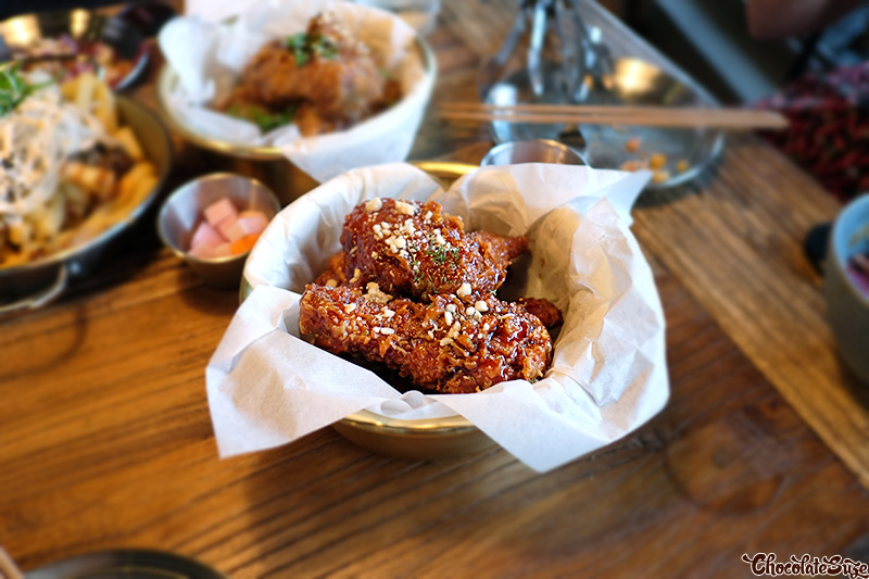 Sweet chilli chicken at Flying Tong, Newtown