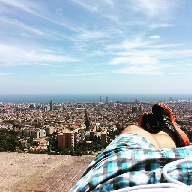 Chodelka v Barcelone