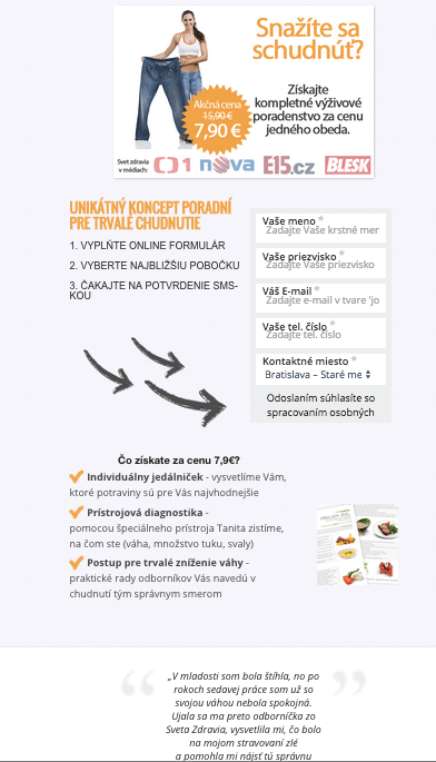 optimise press landing page