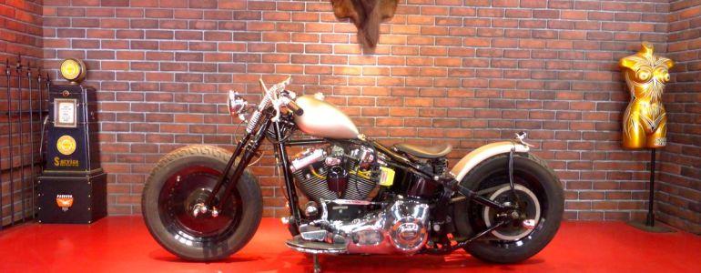 1996年 FLSTN old bobber style8(製作中)