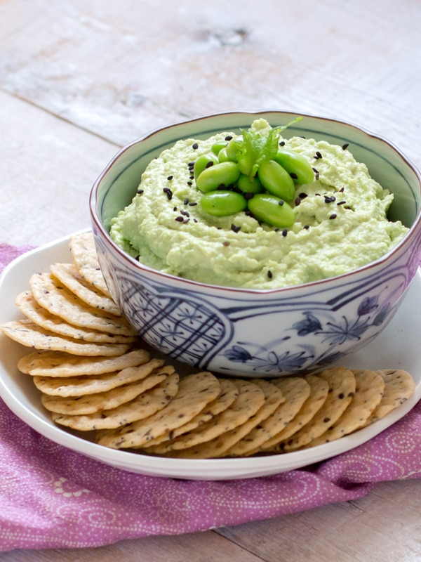Edamame Hummus | Chopstick Chronicles