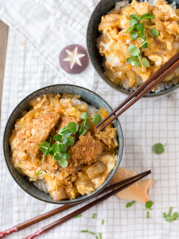 Katsudon (Fried Pork Rice Bowl) | Chopstick Chronicles