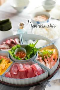 Temakizushi Hand Rolled Sushi 手巻き寿司