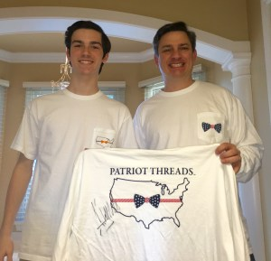 Amazing 17 Yr. old CEO Combines Patriotism with Apparel and Starts a Movement to Help Veterans