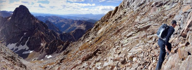 September: Climbing Mt Powell in the Gore Range