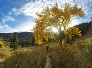 October: Boulder finally begins the transition to winter