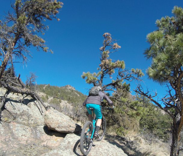 Even the high country trails are dry