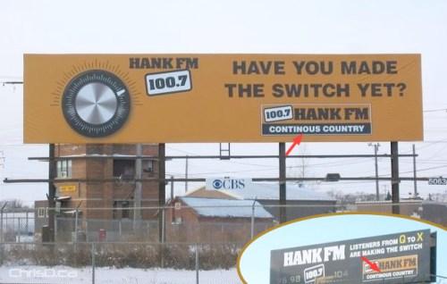 Hank FM Billboard Error