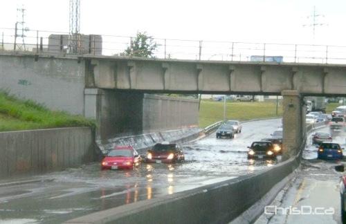 Jubilee Underpass Water