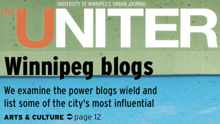 The Uniter - Winnipeg Blogs