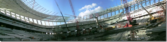Green point Stadium panoramic