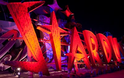 The Neon Museum offers Yoga