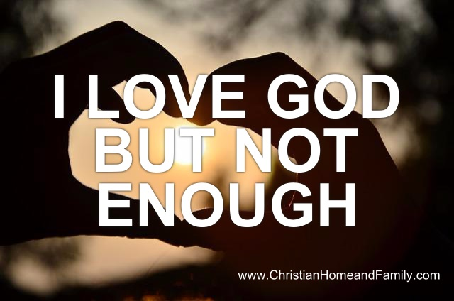 i-love-god-but-not-enough
