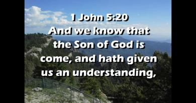 Video Bible Verse 1 John 5:20